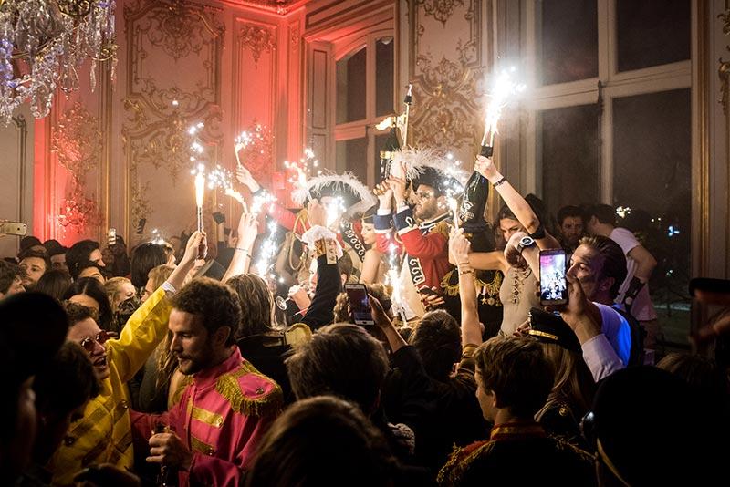 Le champagne Lanouvelle à l'honneur à la soirée Sexy Army