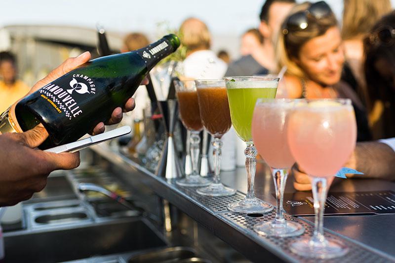 Champagne Lanouvelle x Monsieur Mouche ! En collaboration avec # N I G H T B I R D 2