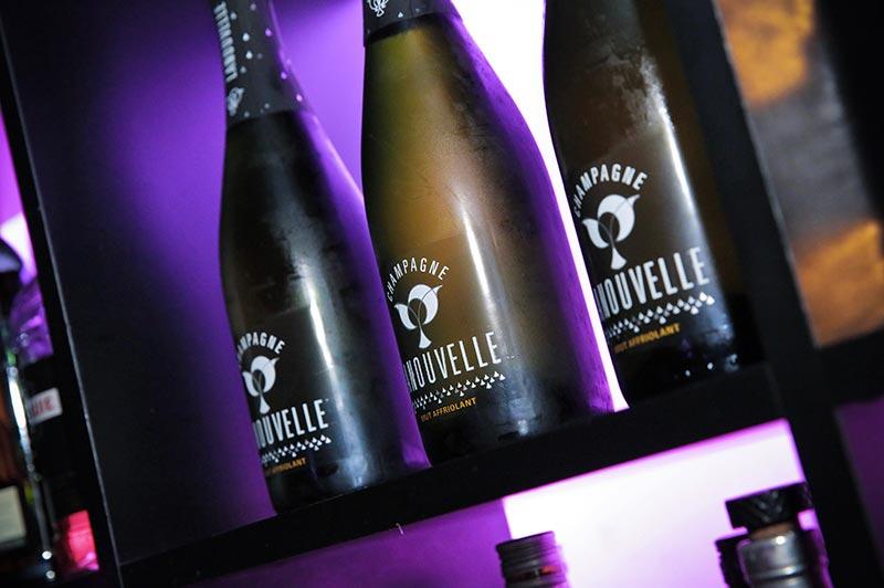Lancement du Champagne Lanouvelle au Gisou