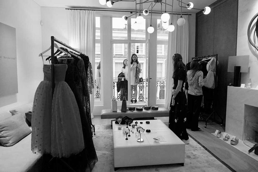 Champagne Lanouvelle à Londres ! The Summer Room Pop-up store hosted by Julia Van Hagen