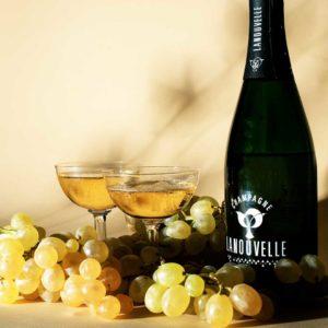 Photographie du Champagne Lanouvelle par Pierre-Louis Leclercq