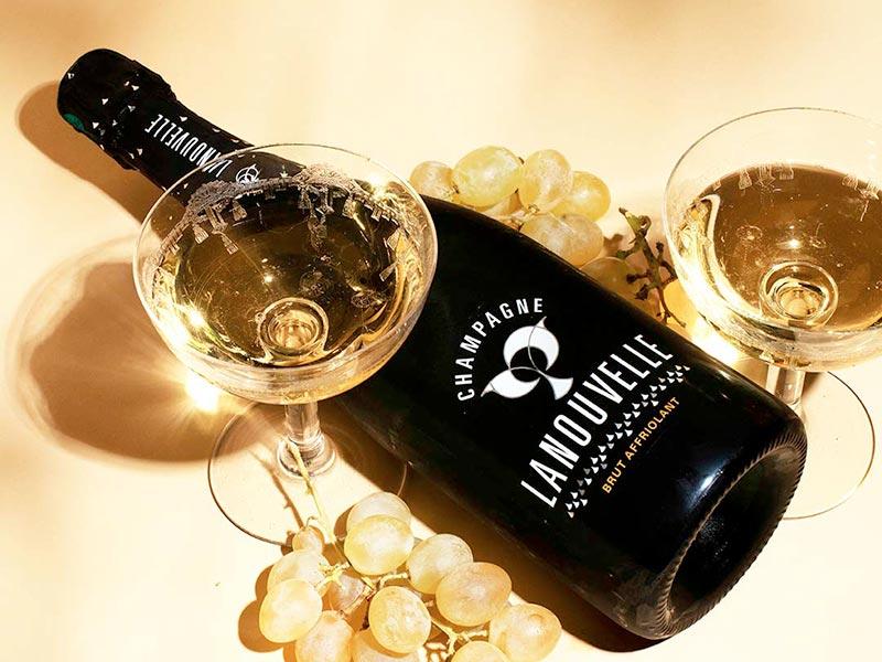 Champagne Lanouvelle – Première série photographique par le photographe d'art Pierre-Louis Leclercq